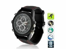 [Waterproof ]8GB Spy HD-DV Watch Video Recorder-Hidden Camera DVR Camcorder Sale