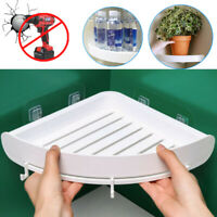 Triangular-Shower Caddy Shelf Bathroom Corner Bath Storage Holder Organizer-Rack