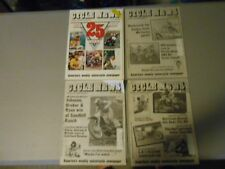 LOT OF 4 JANUARY 1988 CYCLE NEWS MOTORCYCLE NEWSPAPERS,25TH ANIVERSARY ISSUE,AMA