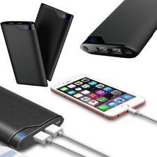 Portable 10000mah Dual USB Power Bank External Battery Charger for Cell Phone