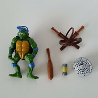 Playmates 1992 Teenage Mutant Ninja Turtles Movie Leonardo Figure w/ Accessories