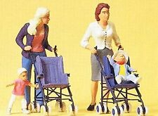 More details for preiser 45114 women with buggies (2) figure set