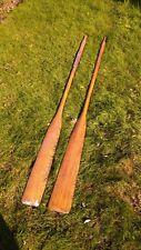 More details for vintage wooden oars
