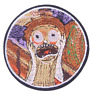 Rick & Morty Scream Patch for Embroidery Cloth Patches Badge Iron Sew On