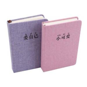 Journal Notebook Hardback Book Cover Diary Planner For Women Gift LP