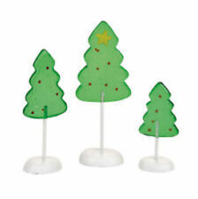 Dept 56 Candy Corner Trees Nib Free Shipping