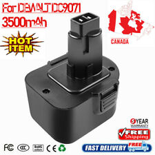 12V 3500mAh NiMH Battery For DEWALT DC9071 DE9037 DE9071 DE9072 DE9074 DE9075 MP