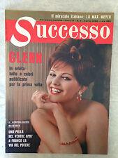 RIVISTA SUCCESSO 4/1962 CLAUDIA CARDINALE AUDREY HEPBURN NILDE IOTTI RASCHEL