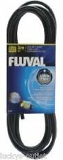 Fluval Airline Tubing - Black - 10 Ft Ultra Flex Aquarium Rubber Air Hose Hosing