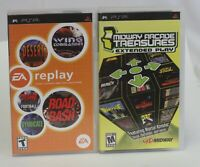 Midway Arcade Treasures EP and EA's Replay Sony PlayStation Portable PSP