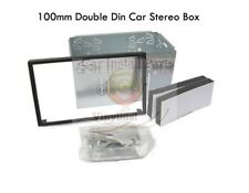 Double Din 100mm Dash Kit Car Radio Stereo Metal Box Cage for Headunit VDD100