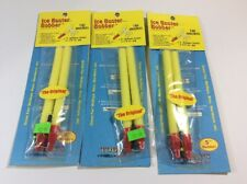 10 NEW WOOD SLIP FLOATS BOBBERS PANFISH ICE FISHING NO FREEZE UP ON LINE B143