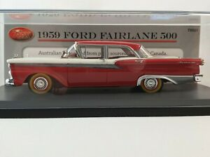 TRAX TRR001 Resin 1:43 Scale Model of a 1959 Ford Fairlane 500 4 Door sedan