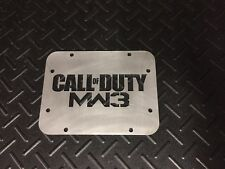 Wrangler JK Tailgate Spare Tire Delete Plate 2007 & Up! Call Of Duty Edition