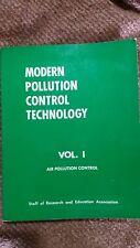 Modern pollution control technology Vol 1