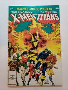 The Uncanny X-Men And The New Teen Titans #1 (DC/Marvel 1982) NM- 9.2 Never Read