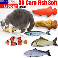 Pet Cat Play Fish Shape Mint Catnip Chewing Kids Gifts Scratch Toy