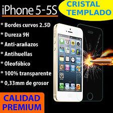 CRISTAL TEMPLADO PROTECTOR DE PANTALLA 0.3MM PARA IPHONE 5 5S 2.5D 9H PREMIUM