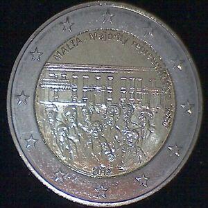 """Malta 2012 2 Euro Sondermünze """"Mehrheitswahlrecht 1887"""" - in Kapsel"""