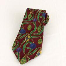 Vintage Robert Talbott Christmas Ornament Silk Necktie Tie New Old Stock Rare