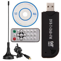 RTL2832U R820T DVB-T RTL-SDR+DAB+FM Digital TV Tuner USB 2.0 Stick Receiver New