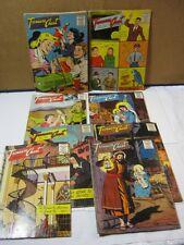 Treasure Chest of Fun & Fact 1950's 1960 Religious Comic Book Lot of 8 T*