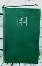 Lutheran Book of Worship Hymnal Prayers Psalms Lessons 1979 Green Hardcover