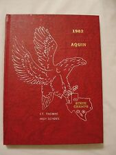 1982 St. Thomas High School Yearbook - AQUIN - Houston, TX.