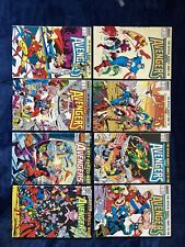 The Official Marvel Index To The Avengers 8 Comic Book Lot No. 1-7 Plus Special