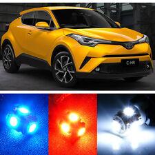 Premium Xenon White LED Lights Interior Package for 2018 Toyota C-HR CHR + Tool