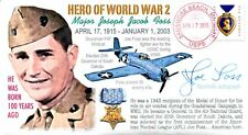 COVERSCAPE computer designed 100th birth of WWII USMC Fighter Ace Major Joe Foss