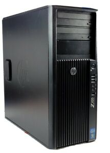 HP Z420 Workstation Xeon E5-1650 Six-Core 3.2GHz Tower S 8GB- 500 GB- Win 10 Pro