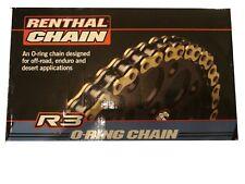 Honda Renthal R3 Gold 520 X 118 L Heavy Duty Oring chain CRF250 X CRF450 CRF450X