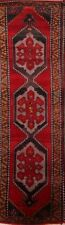 END OF YEAR CLOSE-OUT Vintage Geometric Runner Kazak Russian Oriental Rug 4x13