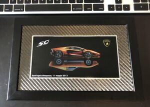 """Lamborghini Aventador 50th Anniv  """"Sant'Agata Bolognese 11 Maggio 2013"""" Picture"""
