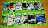 GEO Zeitschrift 2005 komplett neue Bild der Erde Jahrgang 12 Hefte Sammlung