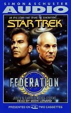 "NEW SEALED  Star Trek Federation Audio Book on Tape ""    (G)"