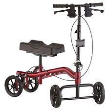 Nova TKW-13 Heavy Duty 400 lbs Turning Knee Crutch Walker Scooter Leg Caddy NEW