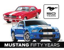 Ford Mustang 50th Tin Sign Tin Sign - 16x12.5