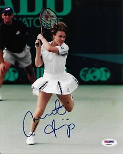 Martina Hingis Signed 8x10 Photo Autographed PSA/DNA COA Tennis Switzerland