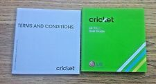 Cricket LG True User Guide & Terms & Conditions English and Spanish