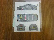 1:43 Decal von Decal43 Audi A4 DTM 2009, Team Kolles Nr. 18 Bakkerud