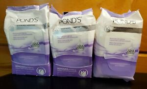 (3) Pond's Evening Soothe w/Cold CreamTowelettes (28 in each) EXP: 4/22+