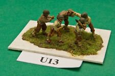 SGTS MESS U13 1/72 Diecast WWII US Army Artillery Crew (5 Figures)