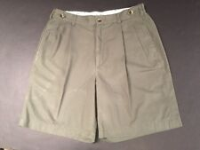 """Men's Dark Green Pleated Golf Shorts by Jack Nicklaus - Size 30"""""""