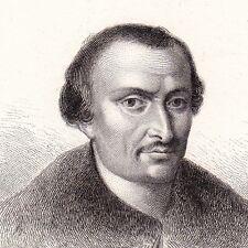 Portrait XIXe Paolo Giovio Paul Jove Como Italie Médecine Histoire 1839