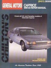 General Motors Caprice, 1990-93 Repair Manual: Chilton's Total Car Care Repair