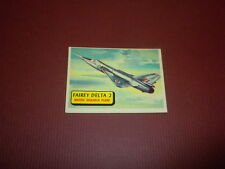 PLANES trading card #40 TOPPS 1957 Army Navy Marines Air Force WORLD AIRPLANES