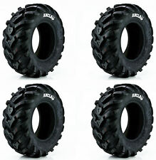 (2) 24-8-12 & (2) 24-10-11 CST Ancla 6-Ply Tires 04-14 Honda TRX400/420 Rancher
