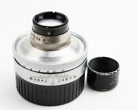 EX+ Hugo Meyer Makro Plasmat 50mm F/2.7 D.R.P.Dr.Rudolph Modified To Leica M